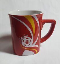 "NESCAFE COFFEE Red FIFA Brazil Mug SPAIN World Cup 2014 Nestle 3.5"" Malaysia"