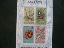 Malawi: 1970 Insects mini- sheet mint