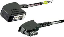 goobay TAE F Extension Cable 15m Analogue Telephone New & Original Packaging