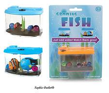 Kids Magic Growing Fish In Tank Aquarium Toy Pet Christmas Gift Stocking Filler