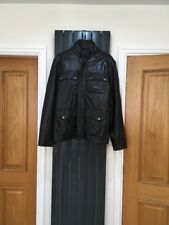 Bench Mens Learher Lined Jacket XL