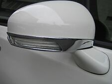 MIT TOYOTA WISH MARK X CROWN 2009-13 outside view door mirror cover trim-chrome