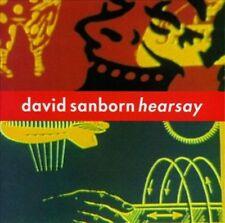 """David Sanborn """"Hearsay"""" CD! BRAND NEW! STILL SEALED!!"""