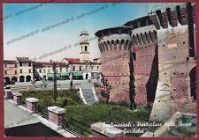 FORLÌ FORLIMPOPOLI 02 CASTELLO Cartolina FOTOGRAFICA viaggiata 1960