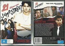21 JUMP STREET JOHNNY DEPP & BRAD PITT COMPLETE SEASON TWO GREAT NEW 6 DVD SET