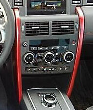 Land Rover Discovery Sport OEM Genuine Red Aluminum I/P Dashboard Trim Dynamic