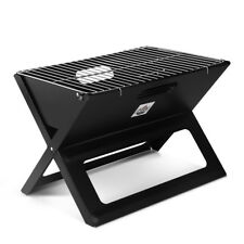 Grillz Portable Charcoal BBQ Grill Mini Outdoor Lightweight Camping Barbecue