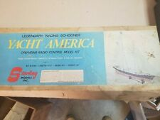 Vintage Model Kit Sterling Models Yacht America Legendary Racing Schooner B-22M