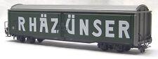 """RhB Schiebewandwagen Haik-v 5120 """"Rhäzünser/Passugger"""" – BEMO – Art. 2279 110"""