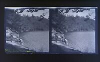 Auvergne Foto Stereo Negativo Su Film Morbido 1914