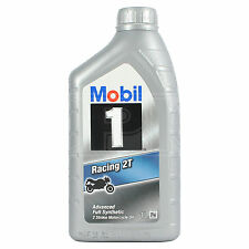 Mobil 1 Racing 2T 2-stroke motorcycle engine oil - 1 Litre 1L