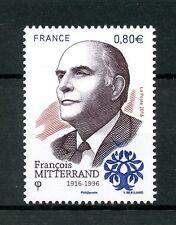 France 2016 MNH Francois Mitterand 1v Set Presidents Politicians People Stamps