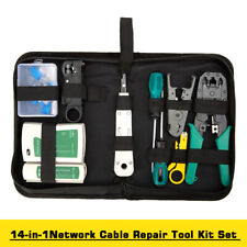 Ethernet Network LAN Cable Tester Crimping Crimper Punch Down Tool Tester