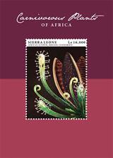 Sierra Leone- Carnivorous Plants of Africa Stamp - Souvenir Sheet MNH