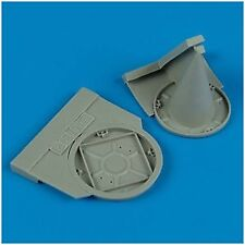 Quickboost 1/48 Sukhoi Su 22M-4 exhaust and air intake covers for Eduard # 48326