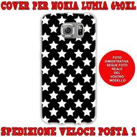 Cover case custodia protettiva in tpu per Nokia Lumia 640XL fantasi STELLINE