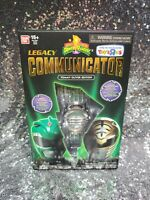 *NEW* Legacy Communicator Power Rangers Tommy Oliver Edition Green White Ranger
