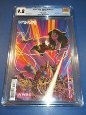 Future State Wonder Woman #1 Hughes 1984 Variant CGC 9.8 NM/M Gorgeous Gem Wow
