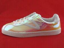 TRETORN x JCREW Iridescent Camden Sneakers Pink Yellow Women's US 11 EU 42.5