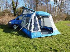 OLPro LOOPO BRISE XL gonflable moteur extérieur camping-car auvent - Bleu/gris
