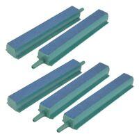 "5 Pcs pierres bulle d'air sortie d'air bar pour aquarium 4 ""vert + bleu V6B7"