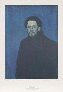 Pablo Picasso, Autoportrait, Lithograph on Arches Paper