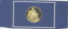 Franklin Mint Medal - The Pieta 1498-1499, Michelangelo Gem Proof Sterling