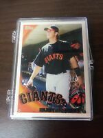 BUSTER POSEY 2010 TOPPS CARD #2 SAN FRANCISCO GIANTS (FIRST FACTORY ROOKIE)