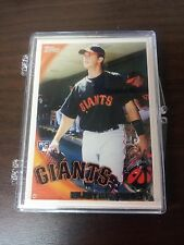 BUSTER POSEY 2010 TOPPS ( FIRST FACTORY ROOKIE ) CARD #2 GIANTS MINT