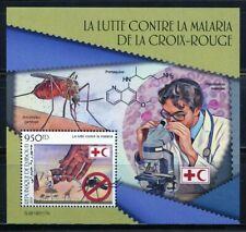 Djibouti 2019 Red Cross Battle Against Malaria Souvenir Sheet Mint Nh