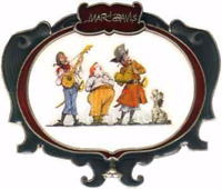 Disney Pin 47778 WDI Marc Davis Pirate Band Musician Howling Dog Cast LE 500 *