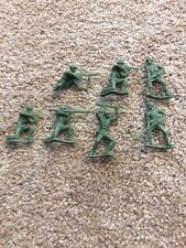 Vintage Green Army Figurines A Lot Of Seven