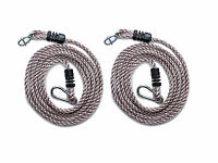 Swing Extension Ropes Fully Adjustable Swing Height up to 2 to 3 Meters