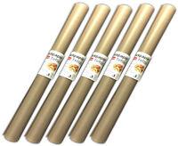 5x Dauerbackfolie zuschneidbar | Backpapier 33x40cm | Backfolie Dauerbackpapier