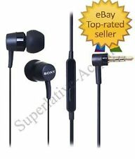 for SONY MH 750 STEREO 3.5 MM HEADSET EARPHONE HANDSFREE HEADPHONE WITH MIC