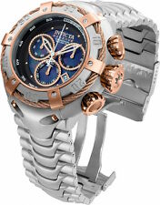 21342 Invicta Reserve Mens 52mm Thunderbolt Swiss Chronograph SS Bracelet Watch
