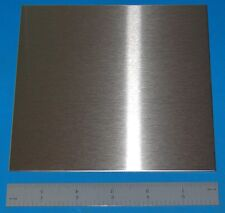 """Stainless Steel 304 Sheet, .048"""" (1.22mm), 6x6"""""""