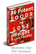 36 Potent Foods To Help You Lose Weight & Live Healthy With MRR PDF