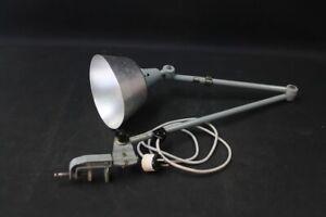 alte Gelenkarmlampe Kahla Werkstattlampe Art Deco Bauhaus Schreibtisch Leuchte