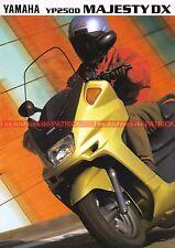 YAMAHA MAJESTY DX YP 250 D - 1998 : Brochure - Dépliant - Moto - Scooter  #0677#