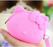 New HelloKitty Silicone Coin Purse Wallet Pouch Case Clutch Key Wallet lyo-568p5
