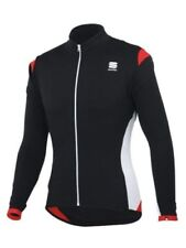 Sportful Flight Long Sleeve Breathable Thermal Cycling Jersey XXL 1100930 BLKRED