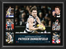 Patrick Dangerfield 2016 Brownlow Medallist OFFICIAL Geelong Tribute Print Frame