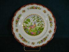 Royal Albert Chelsea Bird Maroon Luncheon Plate(s)