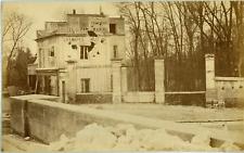 Disdéri (attribué à) La Commune, Pont de Sévres la maison du Parlementaire Vinta