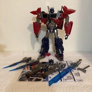 APC Toys Attack Prime/Transformers Prime Optimus Prime 100% Complete US seller