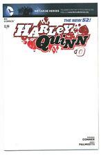 1)HARLEY QUINN #0(BLANK VARIANT)(BATMAN/SUICIDE SQUAD)JIM LEE(CGC IT)NM/MT(9.8)!