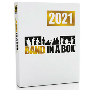 PG Music Band in a Box Pro 2021 PC Composition & Accompaniment Software