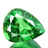 1.28ct SPARKLING UNHEAT NATURAL BEST QUALITY 5A+ TSAVORITE GREEN GARNET GEMSTONE