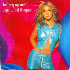 Britney Spears – Oops!...I Did It Again - CD single CARDSLEEVE 3 TITRES 2000